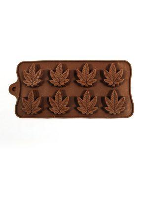 قالب شکلات سلیکونی طرح برگ