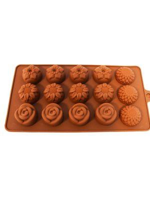 قالب شکلات سیلیکونی 4 گل