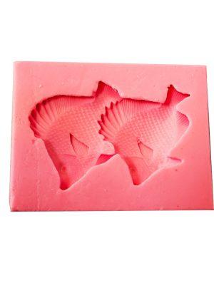 طرح ماهی دو تایی