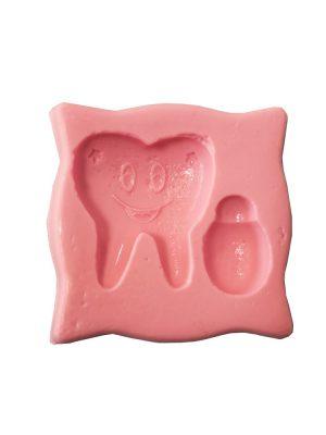 مولد طرح دندان و شیشه شیر