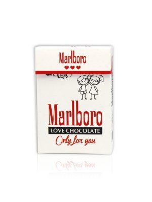 دراژه طرح سیگار Marlboro سفید