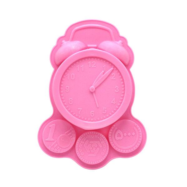 قالب ژله پلاستیکی ساعت و سکه