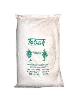فروش عمده پودر نارگیل چرب 25 کیلویی
