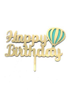 تاپر تولدت مبارک طرح بالن